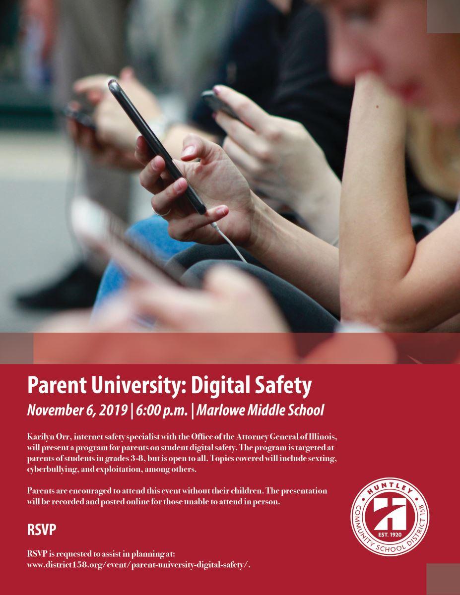 Parent University Nov. 6
