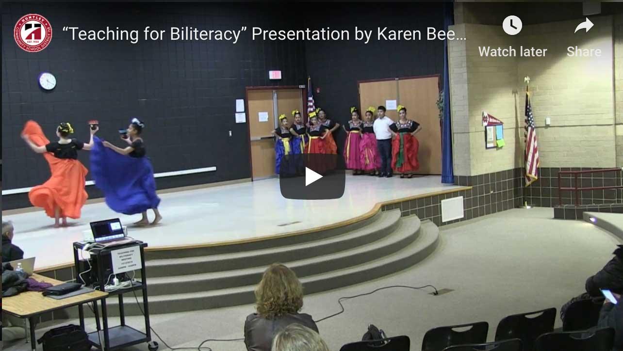 Karen Beeman Presentation Video