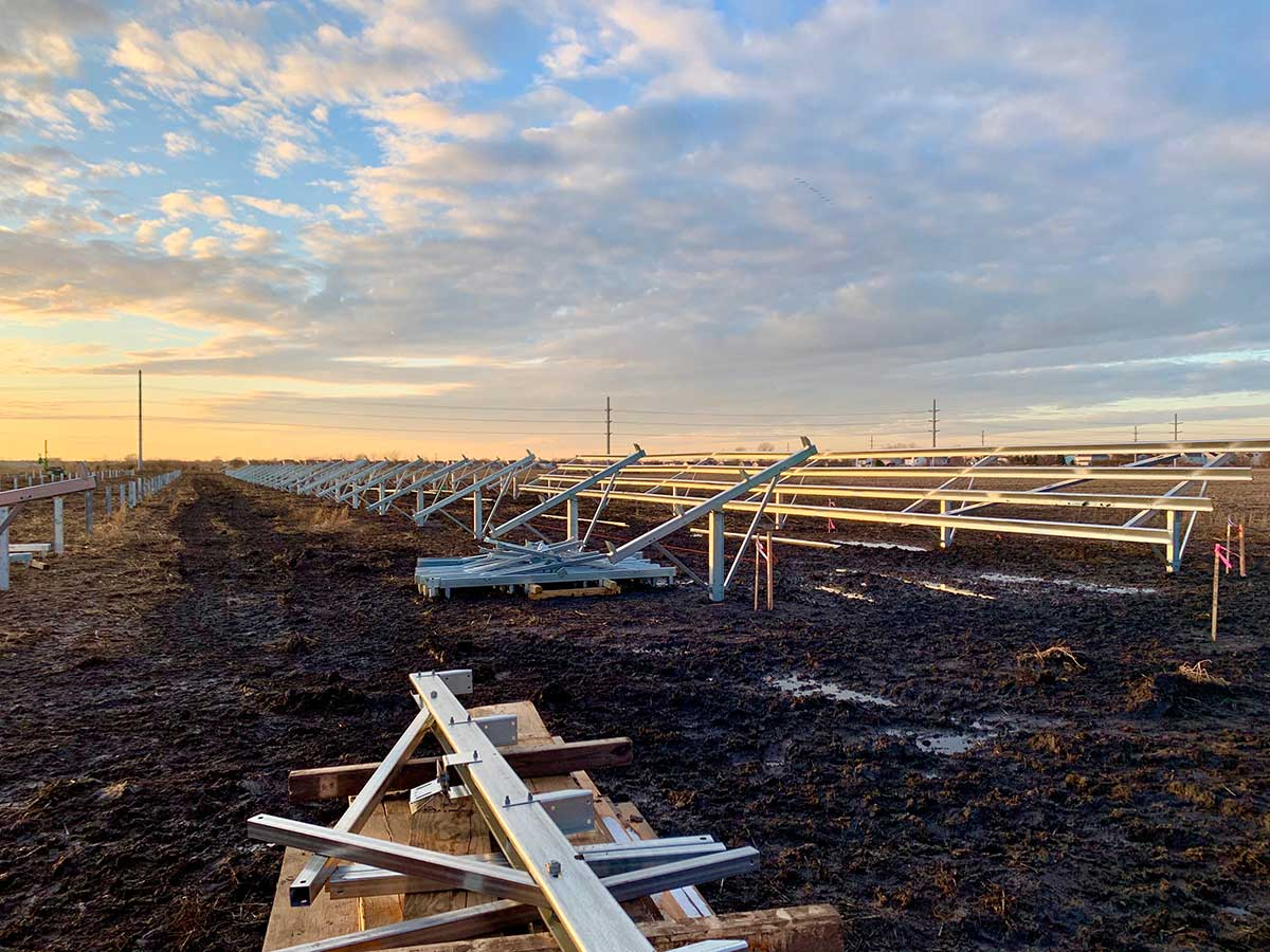 Solar Panels Being Installed at SBRC